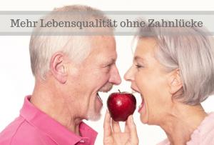 Zahnlücke natürlich ersetzen: Wahl zwischen Prothese und Zahnimplantat | Zahnarzt lLauf